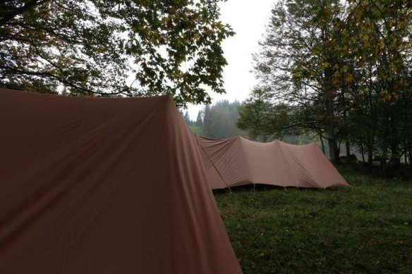 Camping in Jura Mountains Switzerland