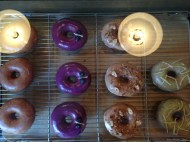 Colorful and great looking donuts