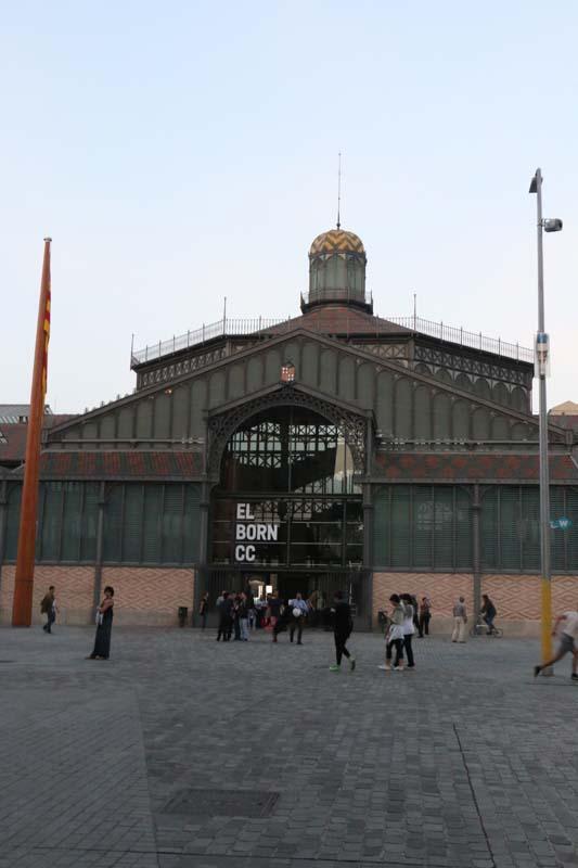 El Born exhibition entrance