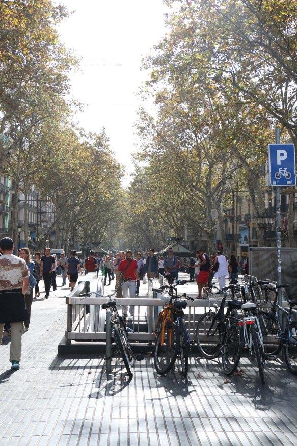 La Rambla and Catalunya Down Town Barcelona