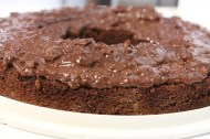 Filling of the Ferrero Rocher Chocolate cake