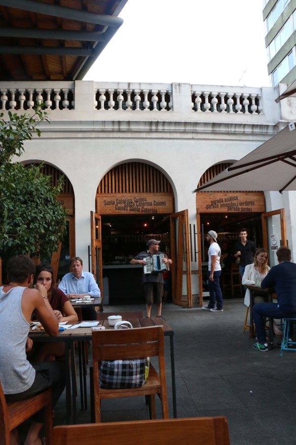 Bar restaurant at the Gothic quarter