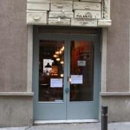 Blue door in Barcelona