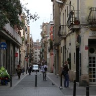 Barcelona old neighborhood