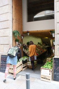 Grocery shopping in Barcelona
