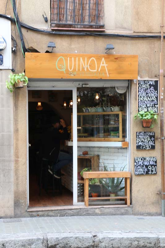 Quino shop in Barcelona