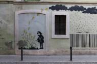 Graffiti art in Barcelona