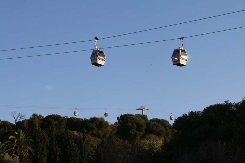 Telefric in Barcelona