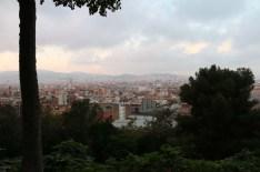 Mountain view of Barcelona
