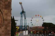 Amusement park in Barcelona