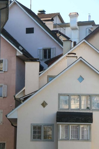 Triangle houses in Zurich