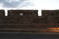 The grand wall of Akka Palestine Israel