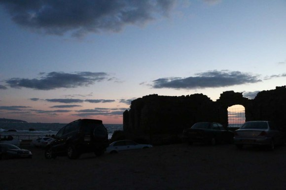 Sun Set in Akka