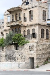 Old houses in the city of Nablus