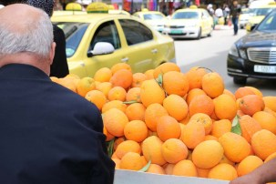 Oranges in Nablus Palestine