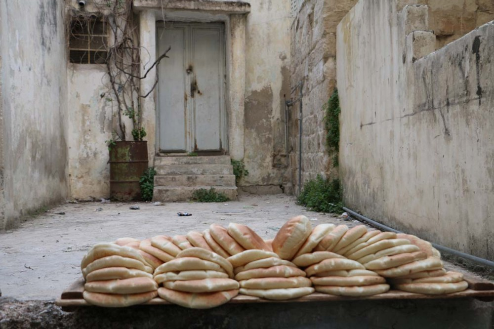 Fresh Bread in Nablus