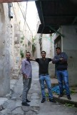 This is a street in Nablus Palestine West Bank - Israeli Palestinian conflict