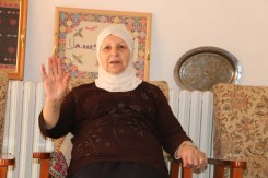 Portrait of a Palestinian woman from Nablus