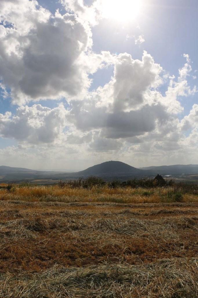 Magic clouds in Palestine