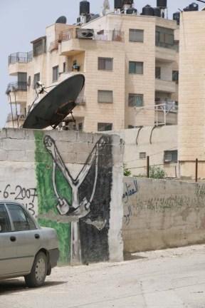 A graffiti for victory