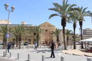the center of Haifa Palestine Israel