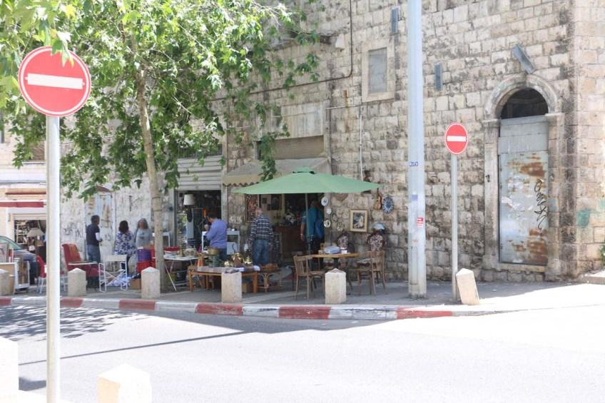 Flea market of Haifa - سوق الرابش حيفا