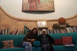 The house of Ahmad Kanaan Palestinian Artist from Tamra