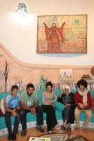 The house of Ahmad Kanaan Palestinian Artist from Tamra