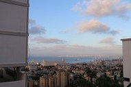 Overlooking all of Haifa Palestine