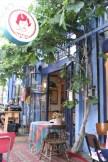 The streets and shops in Yafa Yafo Jaffa