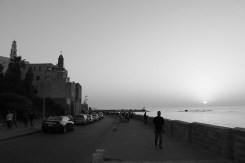Sunset in Yafa Yafo Jaffa