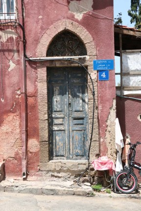 A door and a shop in Yafa Yafo Jaffa