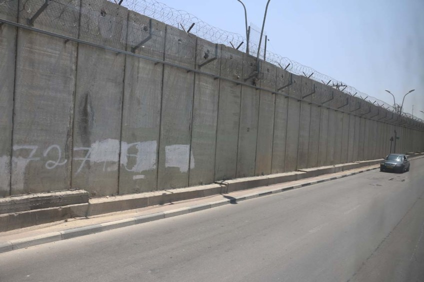 The burden wall of Palestine by Israel الحاءط