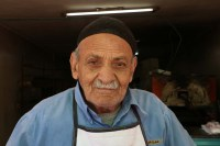 Portrait of a man from Hebron, خليلي