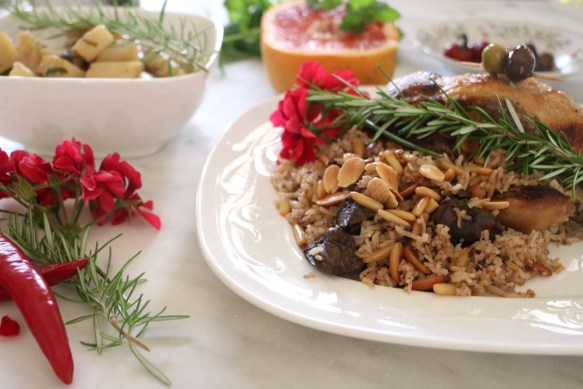 How to make the most delicious Middle Eastern stuffed chicken with liver and nuts