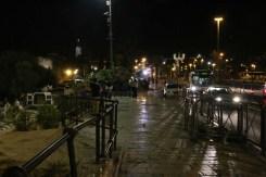 Bab Al Amood Damascus Gate at night Jerusalem