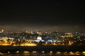 Overlooking all of Jerusalem