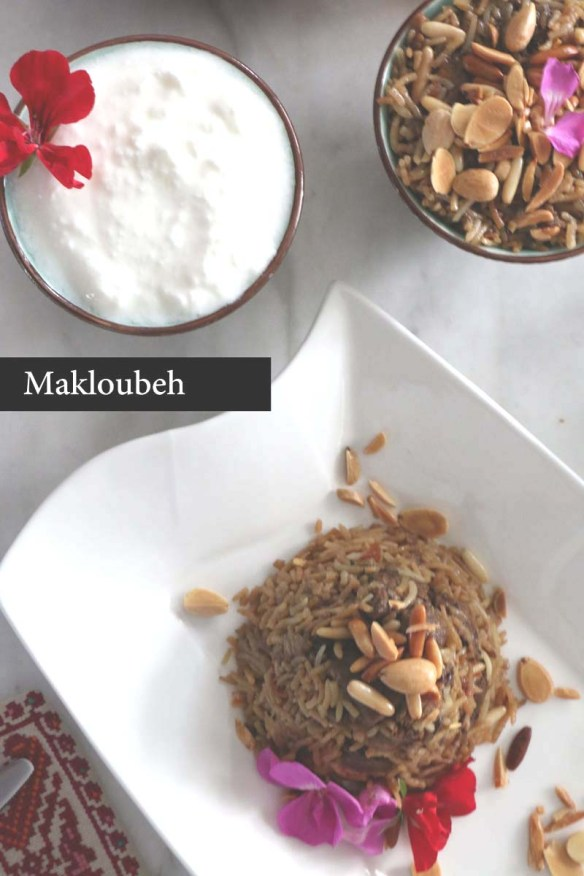 How to make the most delicious middle eastern maqloubeh upside down dish
