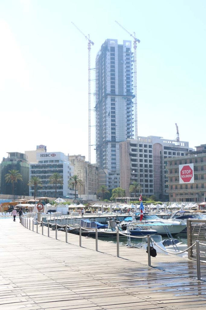 Walking the streets of Beirut, في شوارع بيروت