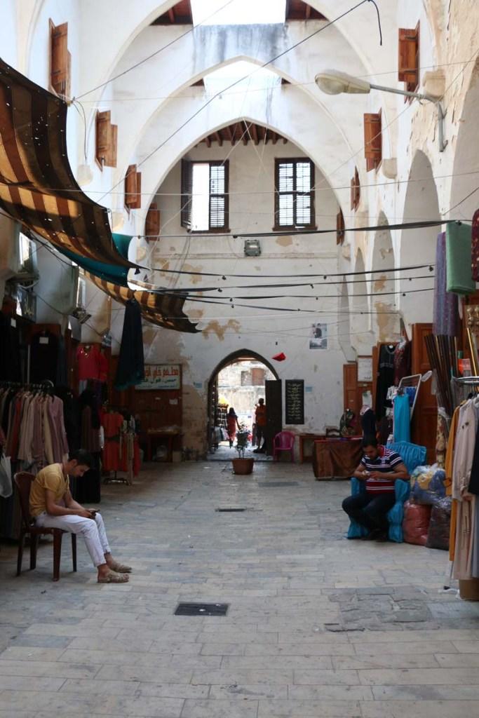 Old market in Tripoli Lebanon السوق القديم في طرابلس
