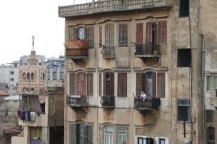 Art Nouveau windows in Tripoli Lebanon
