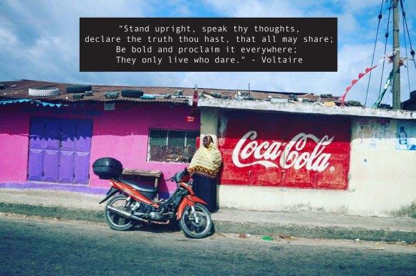 quote, africa, unique, different, daring