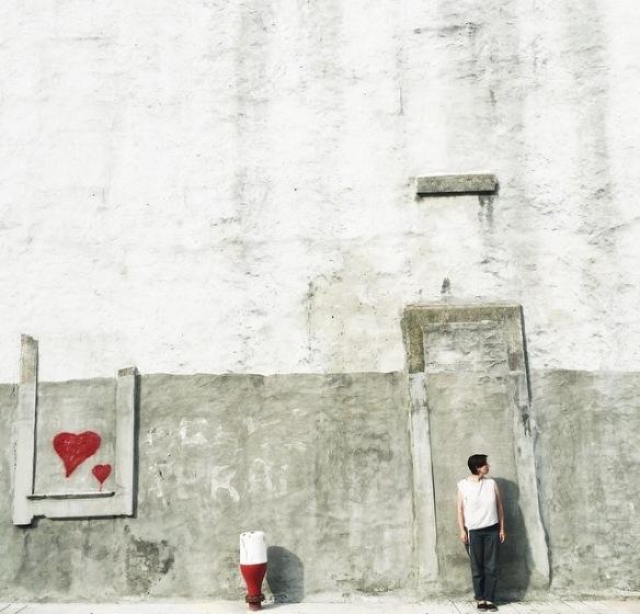Kitato, love, heart, wallpaint, wallart