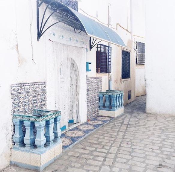Souk de nabeul, tunis, arabian, arabesque, front door