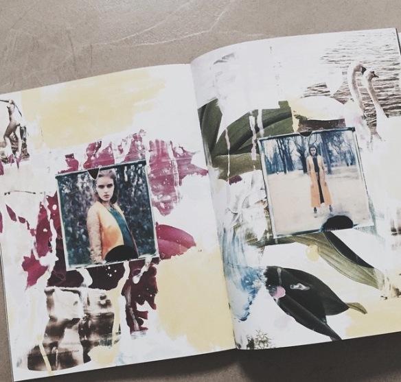 Candelanovembre, diary, collage, artwork