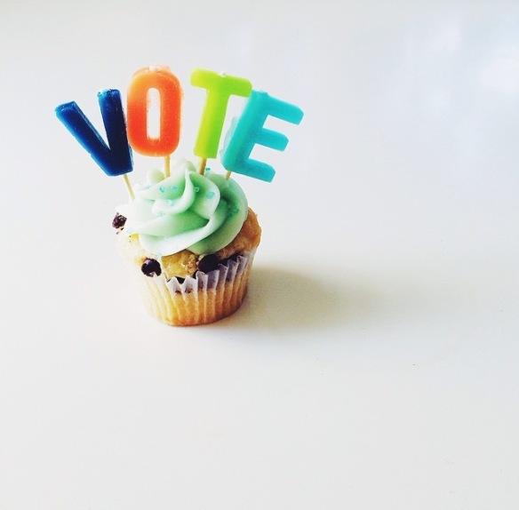 HummingBirdHigh, vote, cupcake, decoration