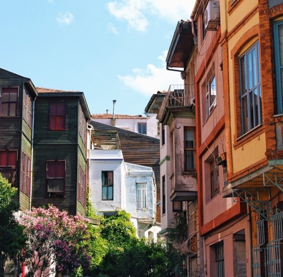 Istanbul, colors, architect