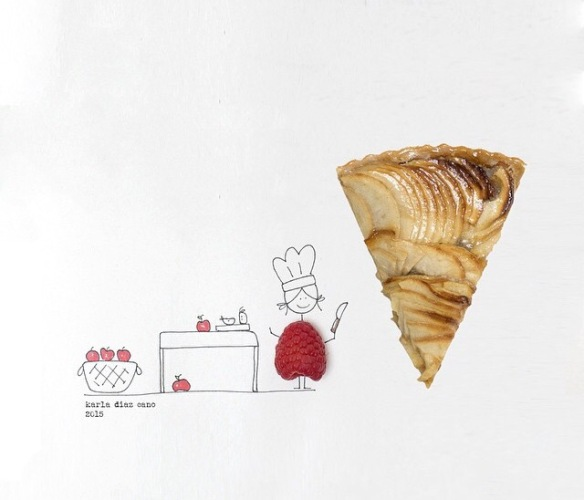_mamannnyc_, pizza, pie, pizzapie, raseberry, character, cartoon