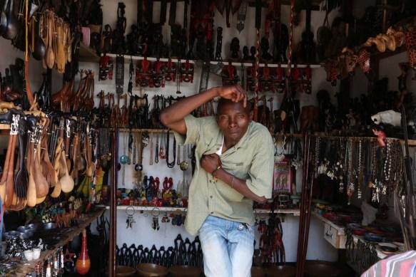 African man, Artist, Tanzania, Arusha