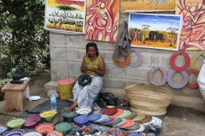 Tanzanian Woman, Artists, Arusha market